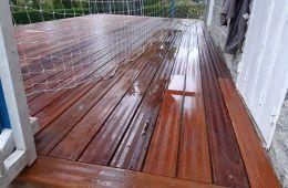 Terrasse en bois CUMARU