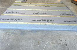 Fabrication des murs en atelier