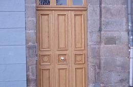 Porte d'entrée après