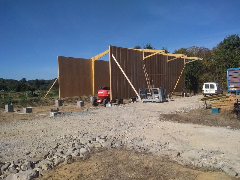 Construction bâtiment agricole